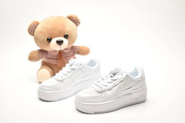 Giày trẻ em nike Air Force 1 Shadow full trắng