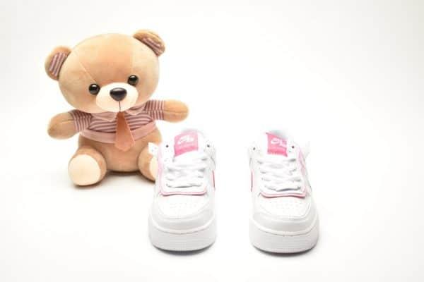 Giày trẻ em nike Air Force 1 Shadow trắng hồng