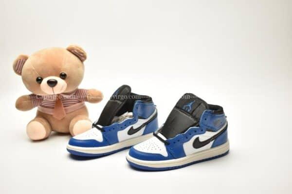 Giày trẻ em Jordan1 Retro High OG xanh dương trắng