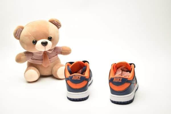 Giày trẻ em Nike SB Dunk Low Pro màu xanh cam