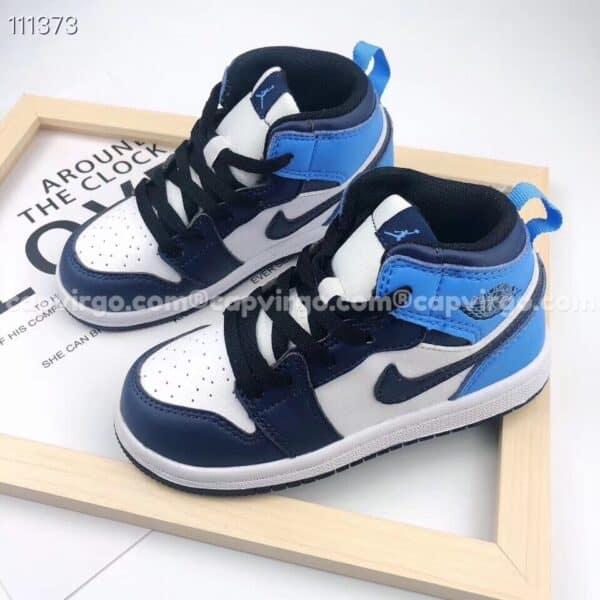 Giày air Jordan 1 obsidian trẻ em