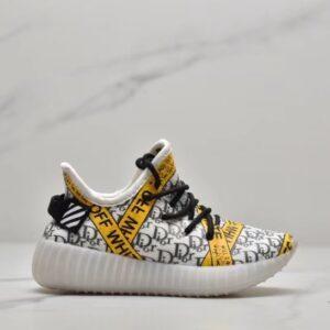 Giày adidas yeezy trẻ em off white x dior