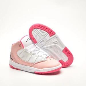 Giày air jordan 11 Max Aura màu hồng đế hồng