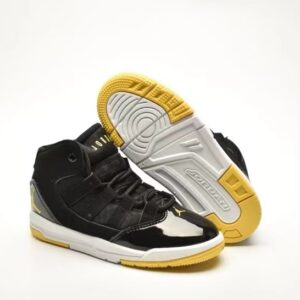 Giày air jordan 11 Max aura màu đen vàng