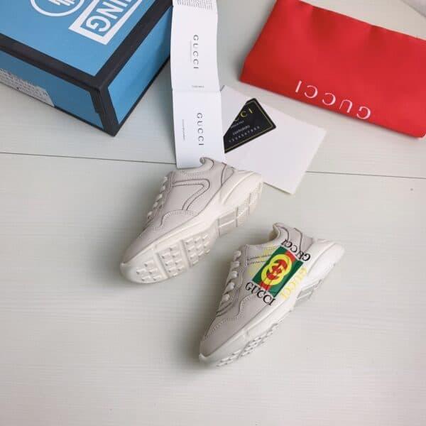 Giày Gucci trẻ em Chunky logo GUCCI siêu cấp