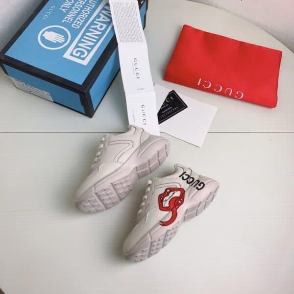 Giày Gucci trẻ em Chunky họa tiết môi siêu cấp