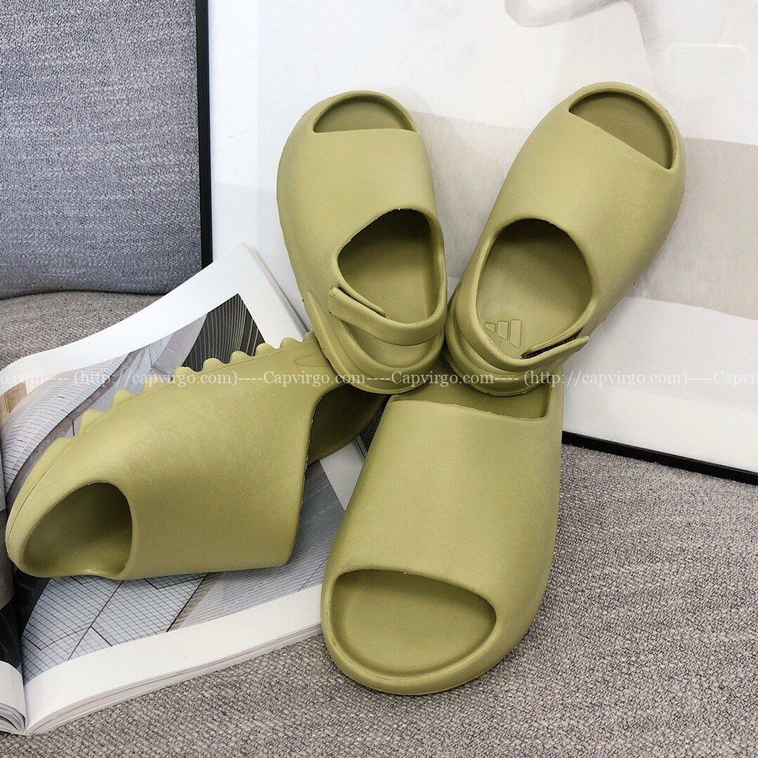 Dép adidas Yeezy màu vàng chanh