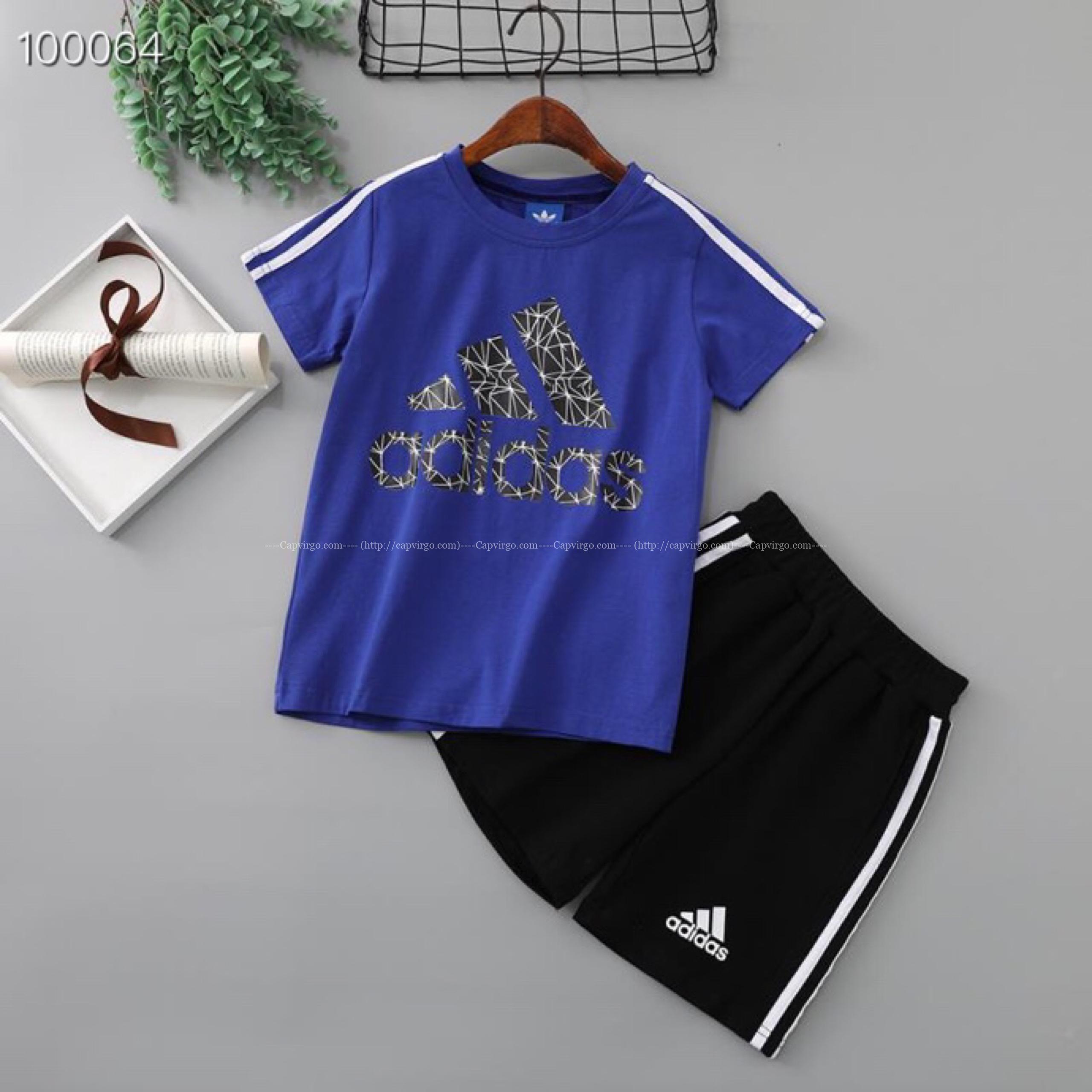 Bộ quần áo adidas trẻ em P750110170 Quần Cộc họa tiết