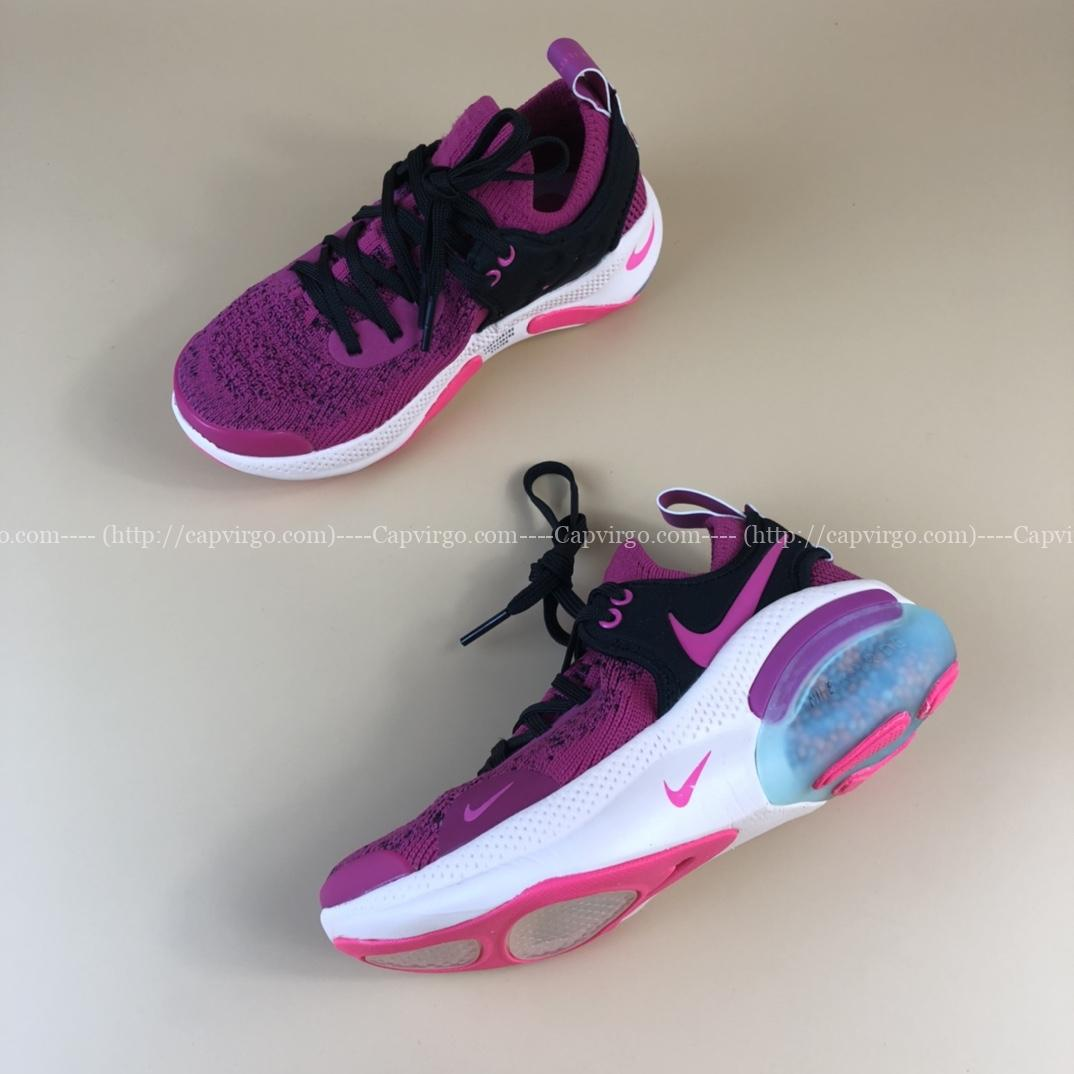Giày nike Joyride Run Flyknit trẻ em màu hồng tím
