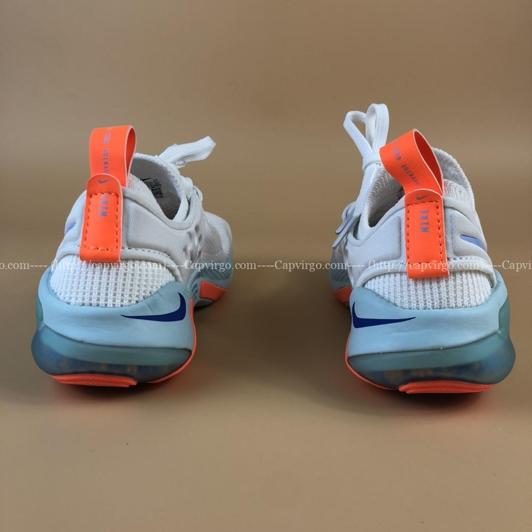 Giày nike Joyride Run Flyknit trẻ em màu trắng cam
