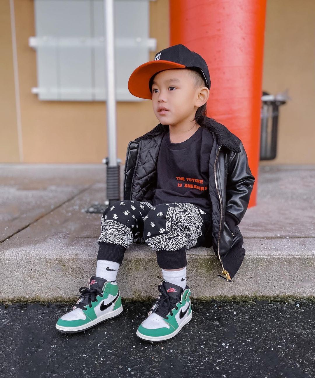 bộ sưu tập giày bóng rổ trẻ em