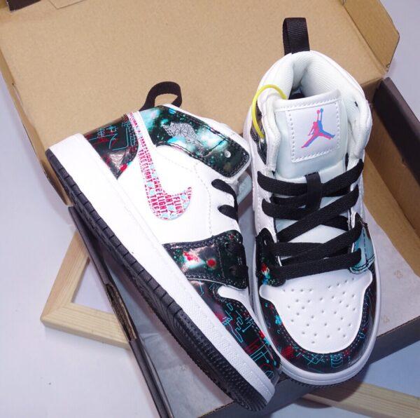 Giày air Jordan 1 trẻ em siêu cấp màu hiếm