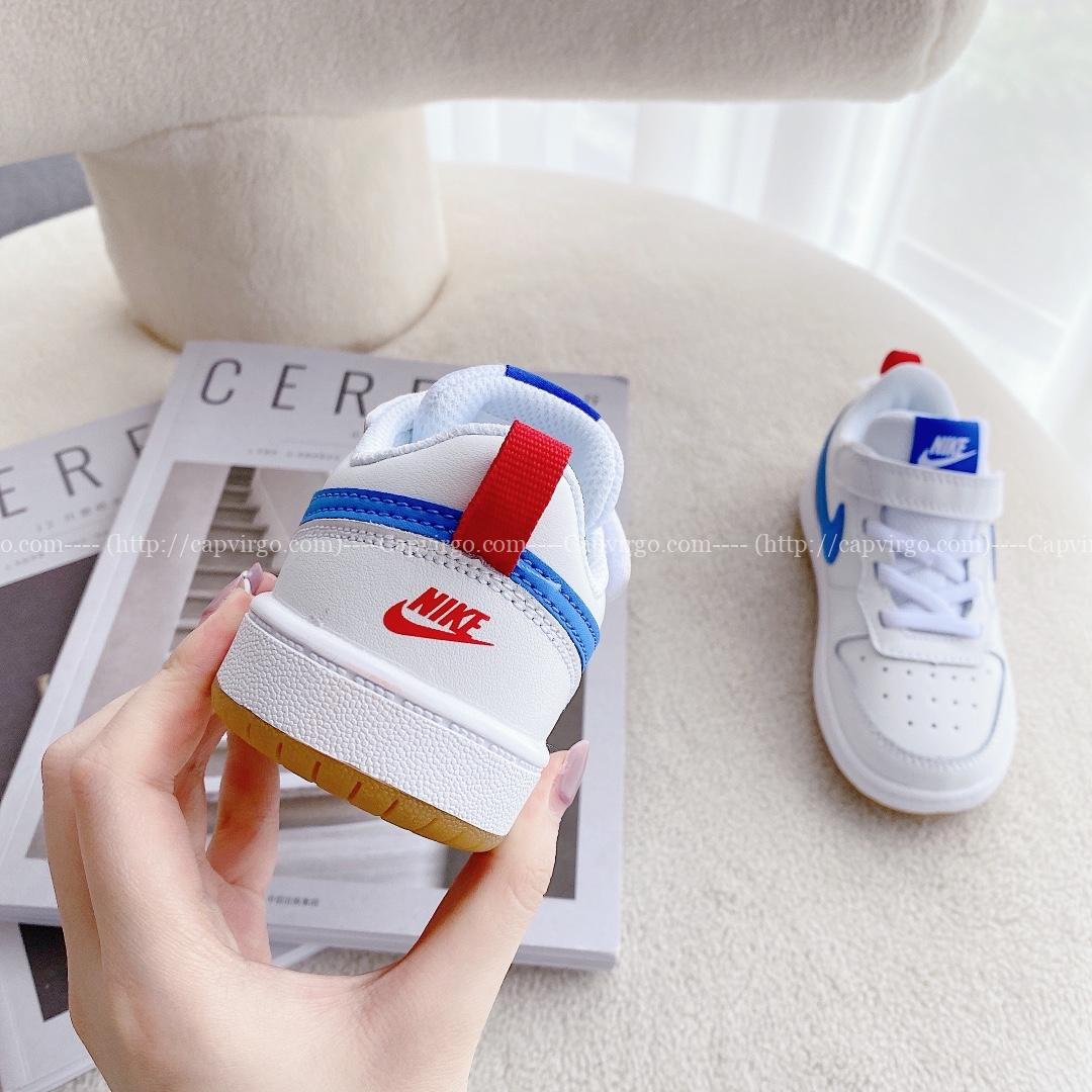 Giày trẻ em Nike Air Force One Tooling Low-Top Xanh trắng