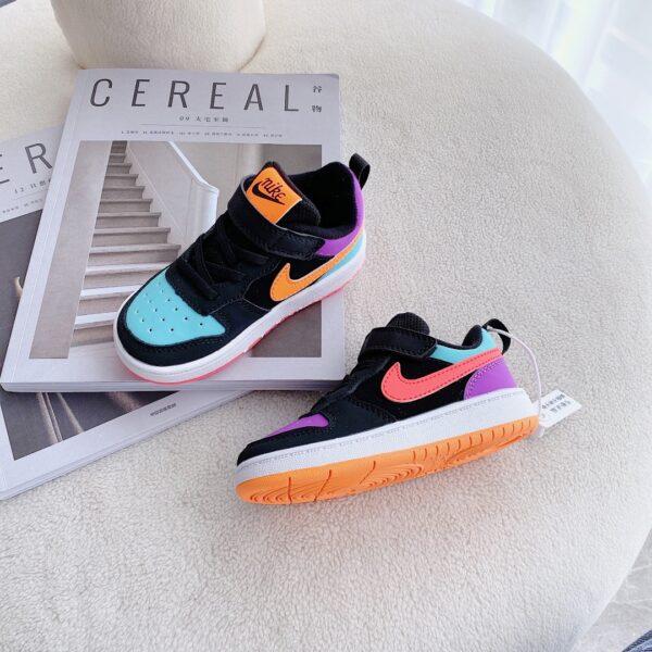 Giày trẻ em Nike Air Force One Tooling Low-Top nhiều màu
