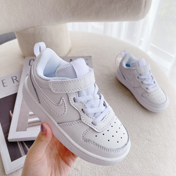 Giày trẻ em Nike Air Force One Tooling Low-Top full trắng