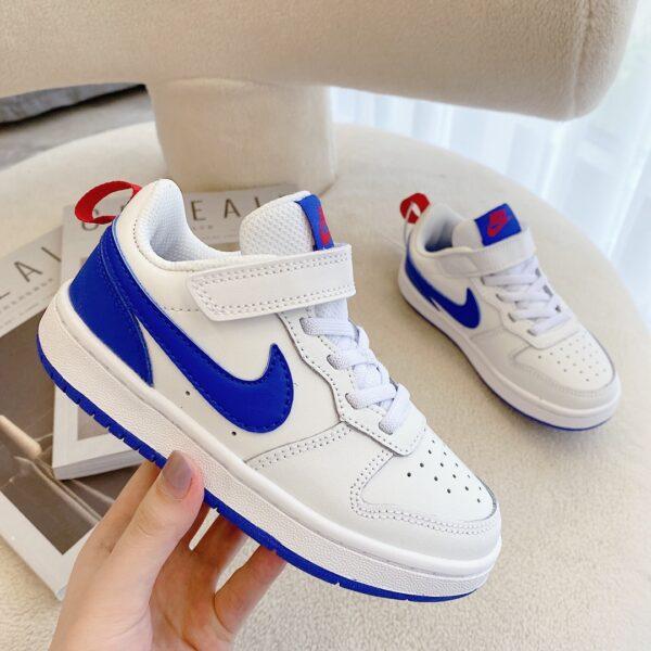 Giày trẻ em Nike Air Force One Tooling Low-Top màu trắng xamh