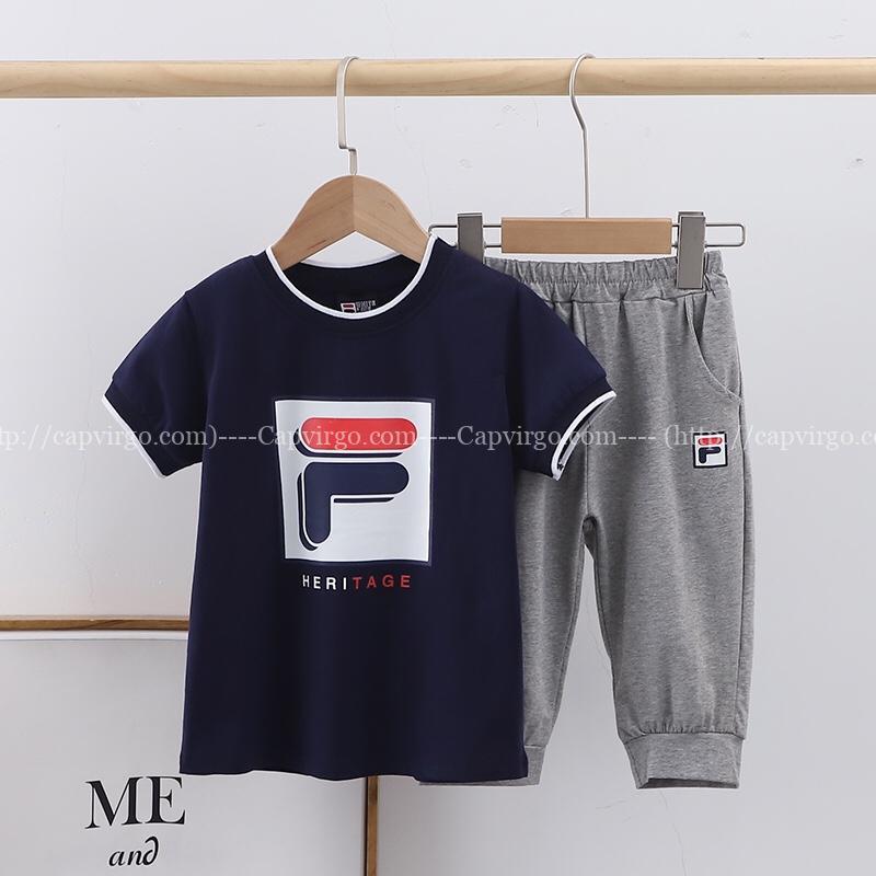 Bộ quần áo Fila trẻ em