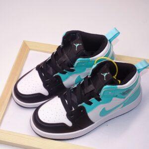 Giày air Jordan 1 trẻ em màu xanh đen