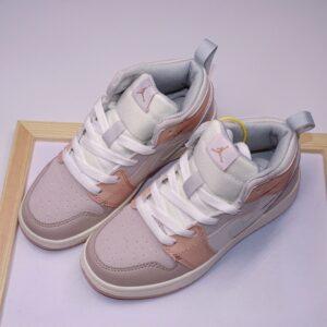 Giày air Jordan 1 trẻ em màu ghi nude
