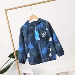 Áo khoác gió Adidas clover trẻ em