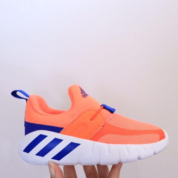 Giày Adidas trẻ em Hippo Campus màu cam xanh