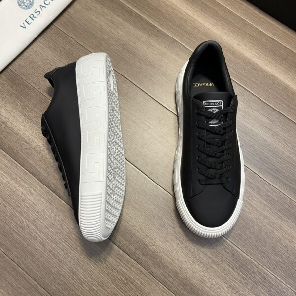 Giày Versace Original Single Vasachi 2 màu trắng + đen