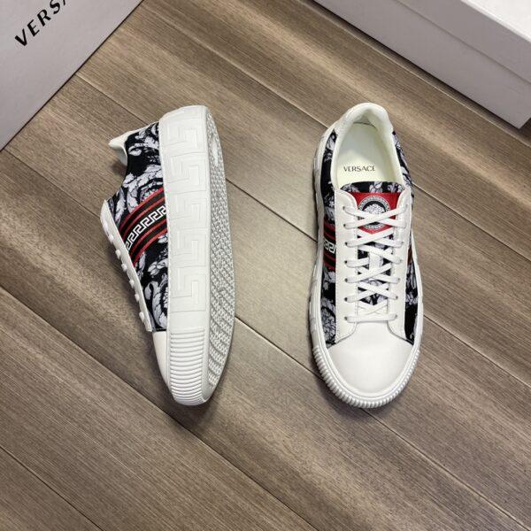 Giày Versace Original Single Vasachi da bê napa