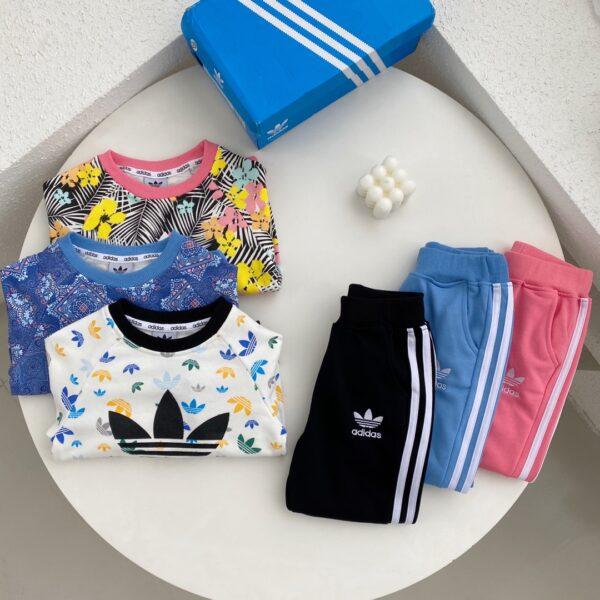 Bộ nỉ adidas trẻ em mẫu mới (có 5 màu)