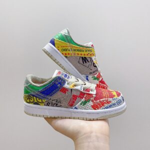 Giày Nike SB Dunk trẻ em họa tiết hiếm