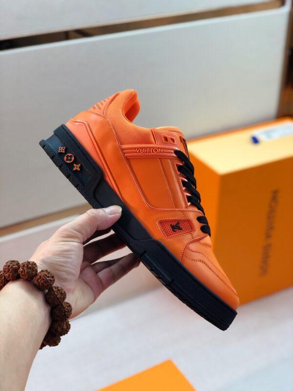 Giày thể thao Louis Vuitton màu cam