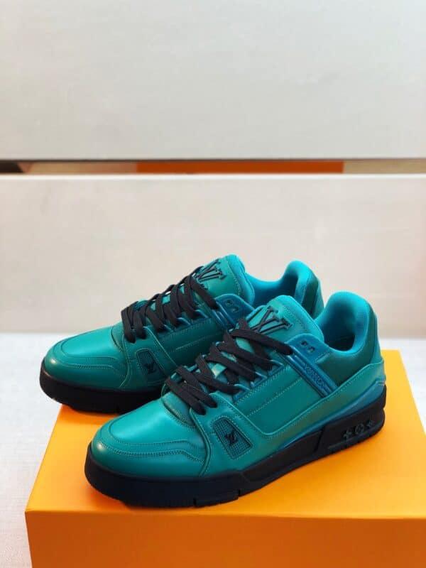 Giày thể thao Louis Vuitton màu xanh