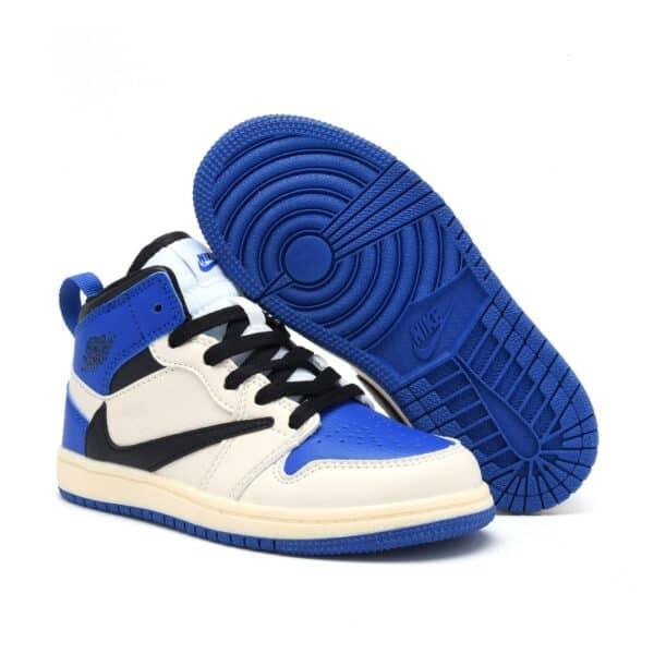 Giày air Jordan 1 trẻ em Inverse Blue cho bé trai bé gái