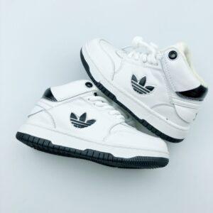 Giày ADIDAS DROP STEP trẻ em màu trắng đen